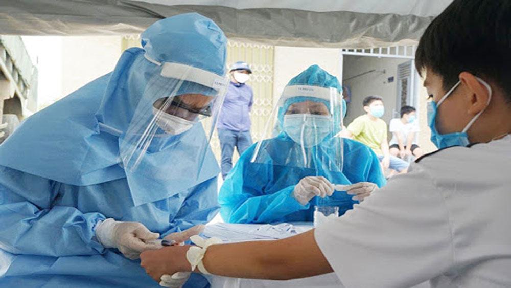 Chiều 3/8, ghi nhận thêm 21 ca dương tính với SARS-CoV-2